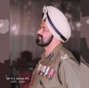 tribute to Mr. rajinder singh sahaye IPS