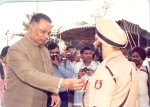 RS Sahaye – Police Medal for Meritoriousservices
